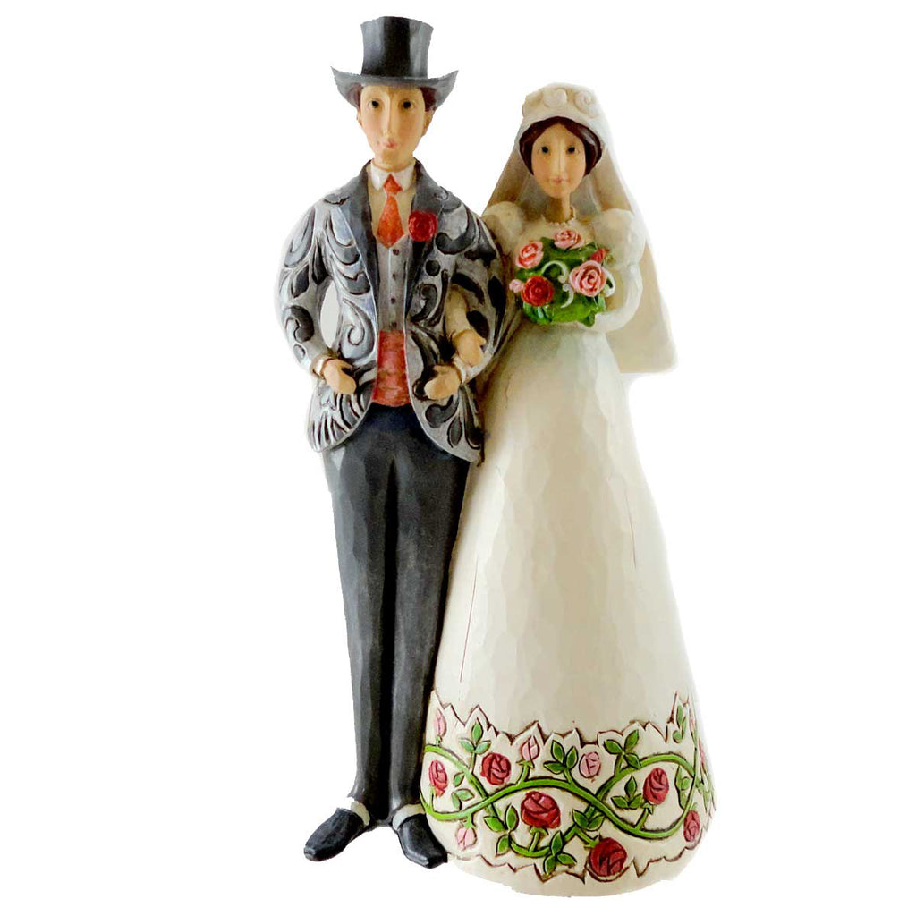 Jim Shore Bride & Groom Cake Topper Figurine