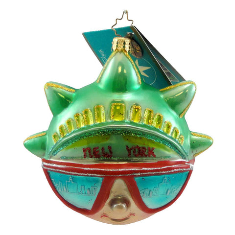 Christopher Radko Free Style Glass Ornament 693