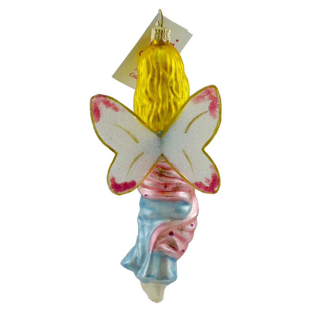 Holiday Ornament Tinkerbell Glass Ornament