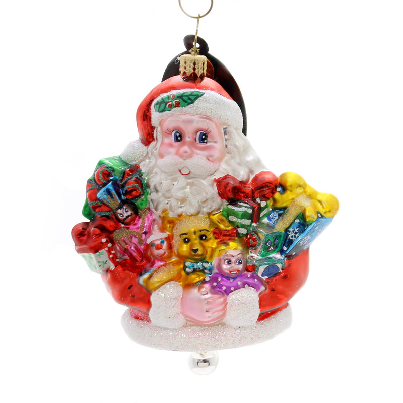 Christopher Radko Toyful Tidings Glass Ornament
