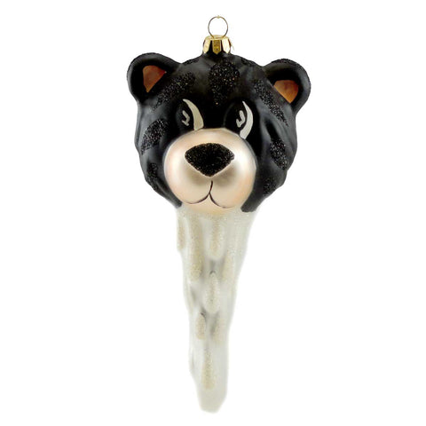 Cherry Designs BEAR CICLE Blown Glass Christmas Ornament 8158 7969