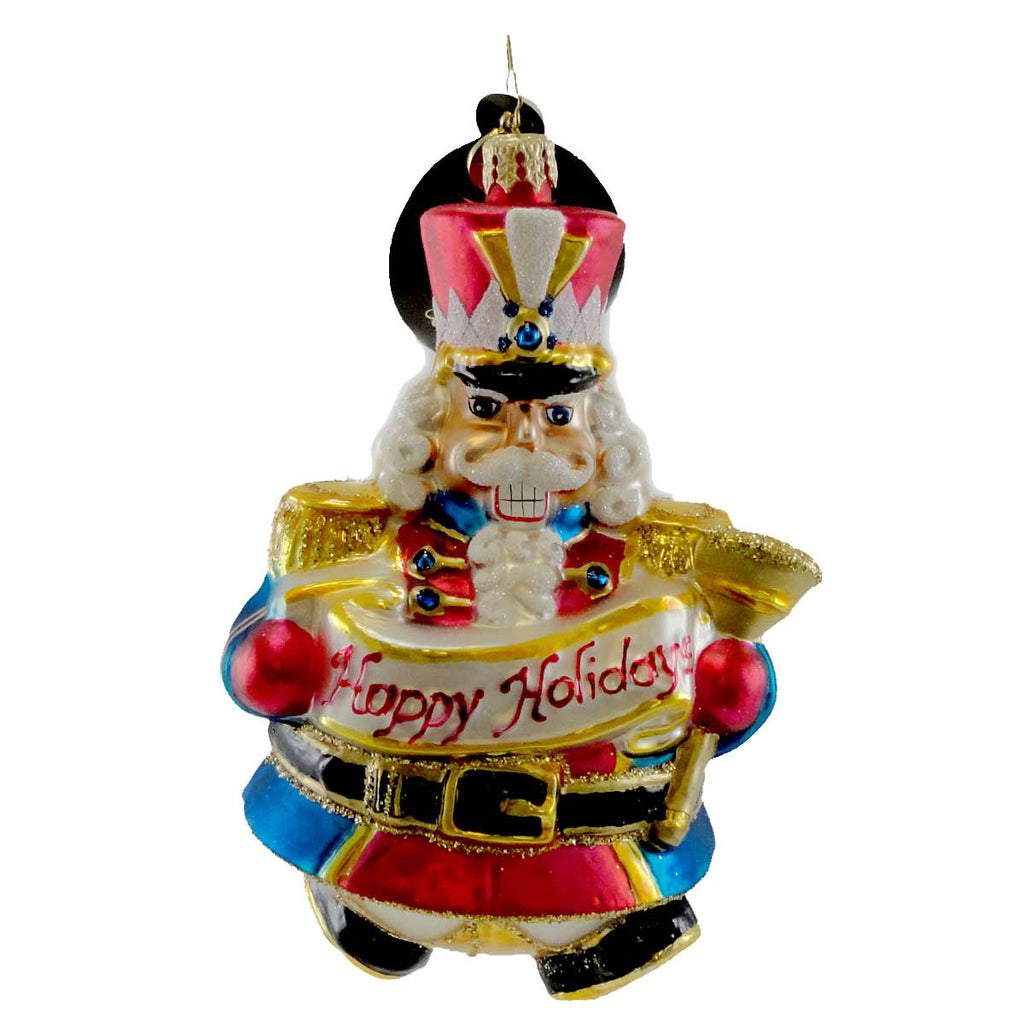 Christopher Radko Regal Roller Glass Ornament