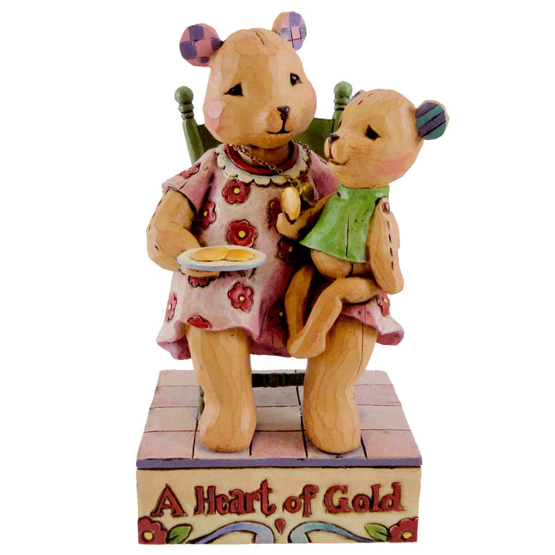 Jim Shore You Have A Heart Of Gold Figurine