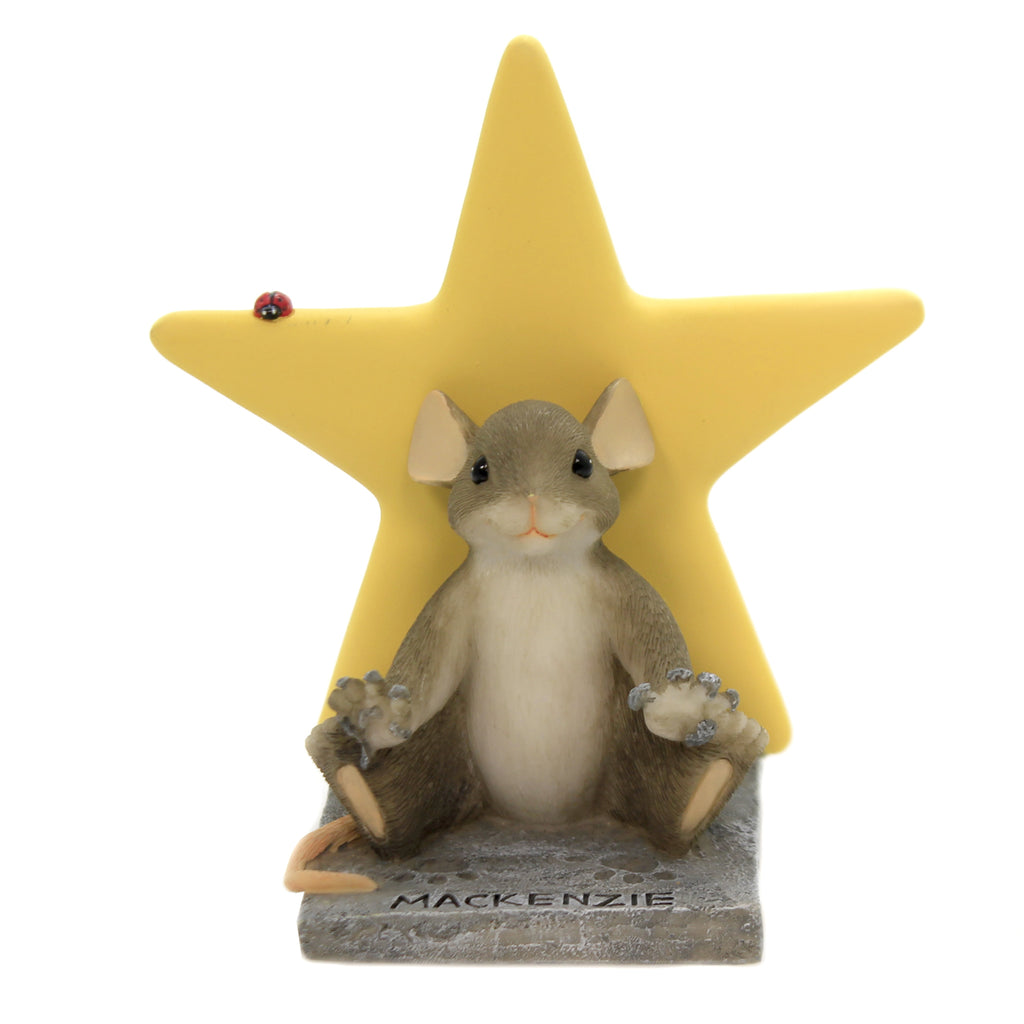 Charming Tails A Star In The Making Figurine