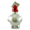 Christopher Radko Frosty Cares Glass Ornament