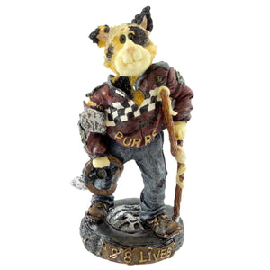 Boyds Bears Resin Mario Fenderbender Figurine