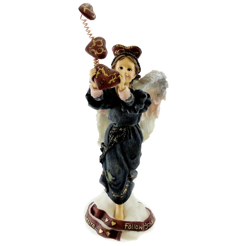 Boyds Bears Resin Isabella Follow Hearts Desire Figurine