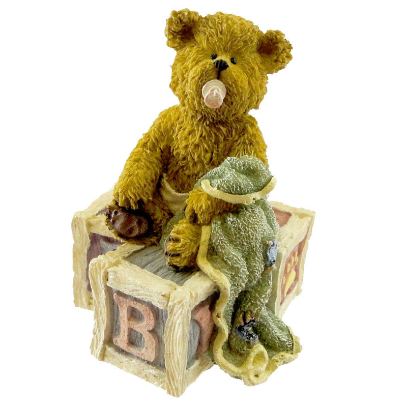 Boyds Bears Resin Binkie New Arrival Figurine