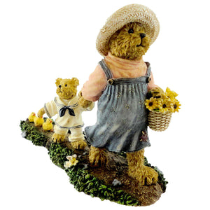 Boyds Bears Resin Momma Mcwaddles & Skippy Figurine