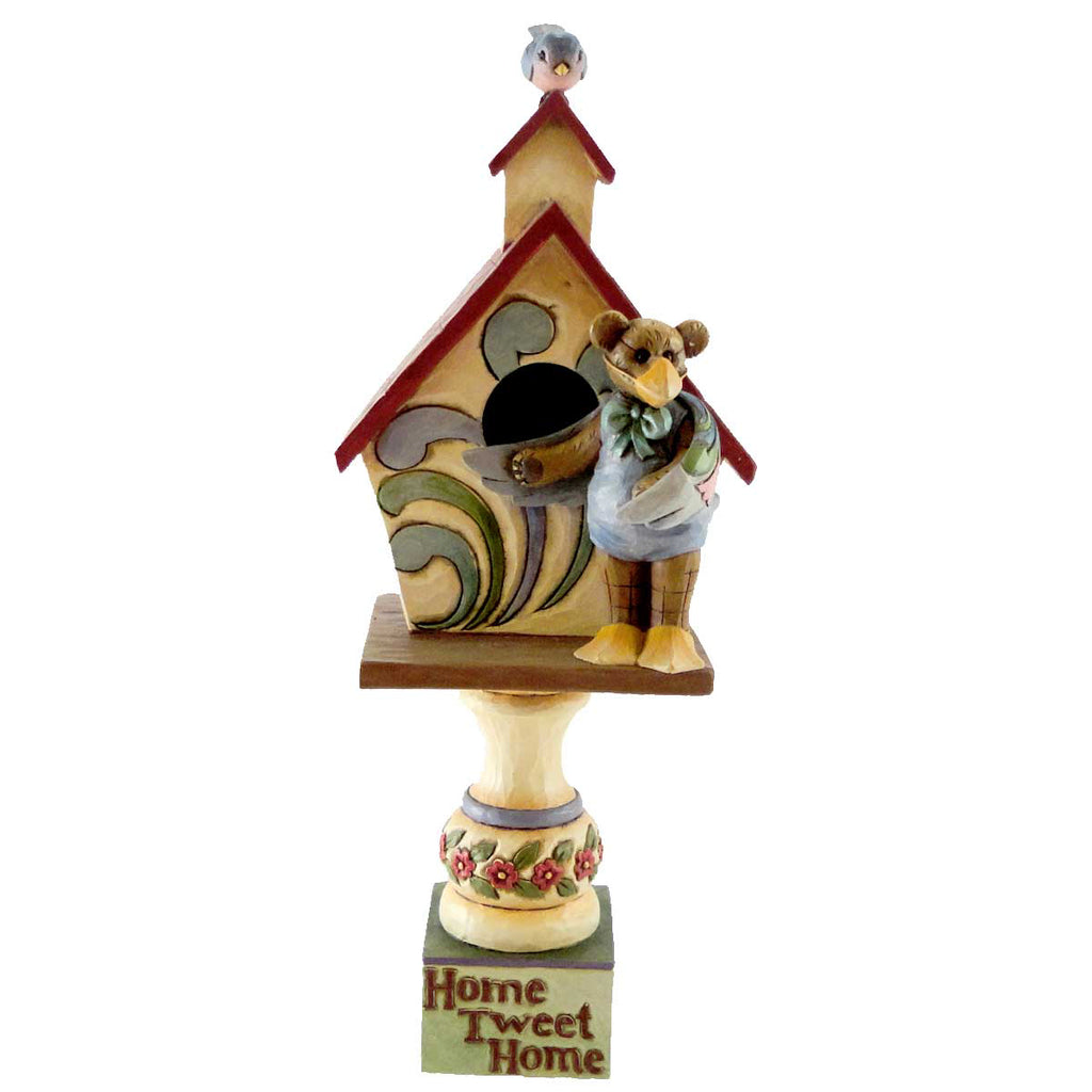 Boyds Bears Resin Bernie Tweedlebeak And Chip Figurine