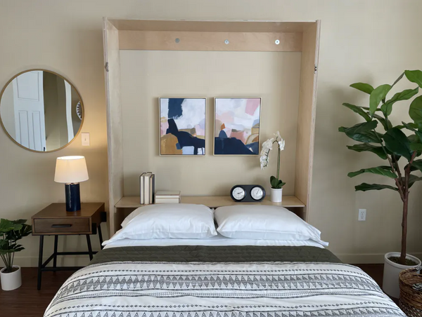 murphy bed wall bed design example