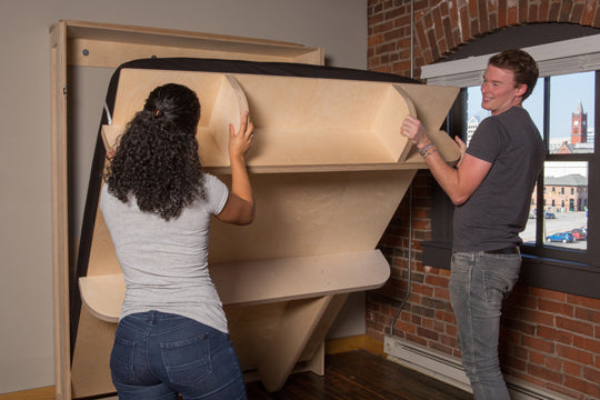 lifting a murphy bed