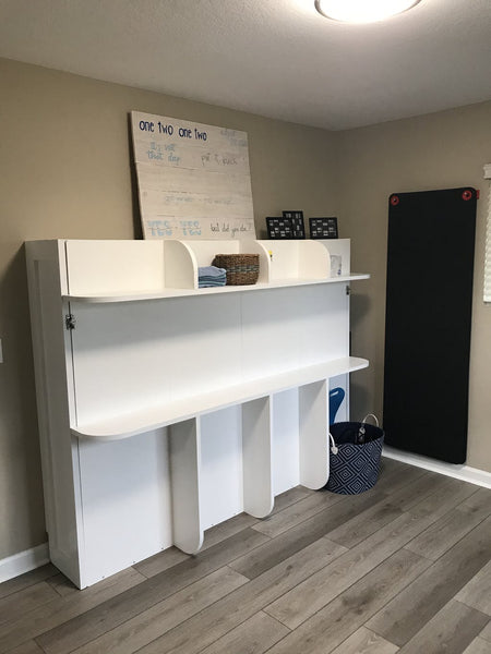home gym wall bed murphy bed