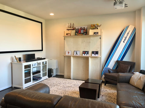 Rec Room with Lori Wall Bed