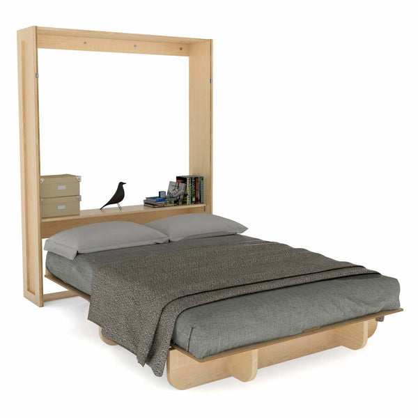 Queen Size Ready-to-Build Lori Wall Bed Wood Kit