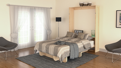 Lori wall beds diy murphy bed kits and plans easy and affordable easy to build with our plans and kits solutioingenieria Gallery