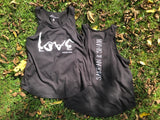 YOGA LOVE Tank in Black/White