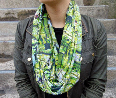 Infinity Scarf - 'Rock Out' Print