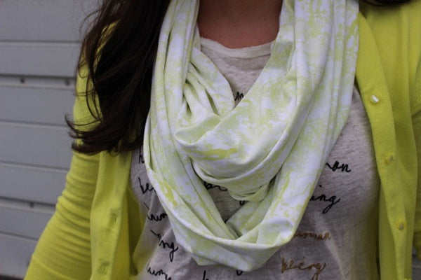 Infinity Scarf - 'Upstate Citrus' Print