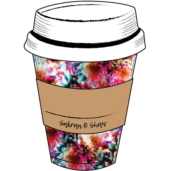 'Write Your Own Name on It' To-Go Cup Sticker