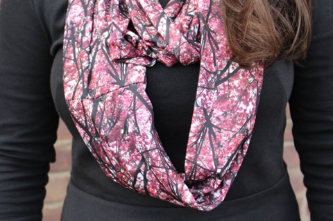 Inifinity Scarf - 'Branch Out' Print