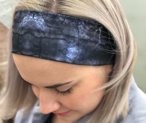 Anything but Basic Headband - Outer Space