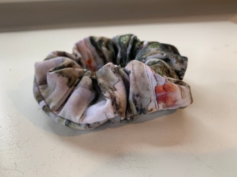 Birch Bark Scrunchie