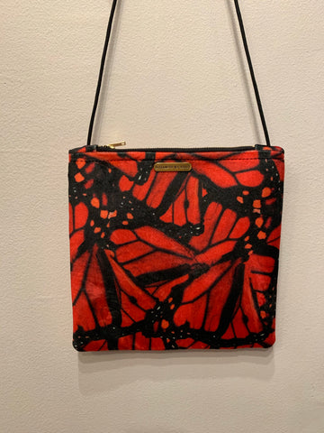 Large Velvet Crossbody
