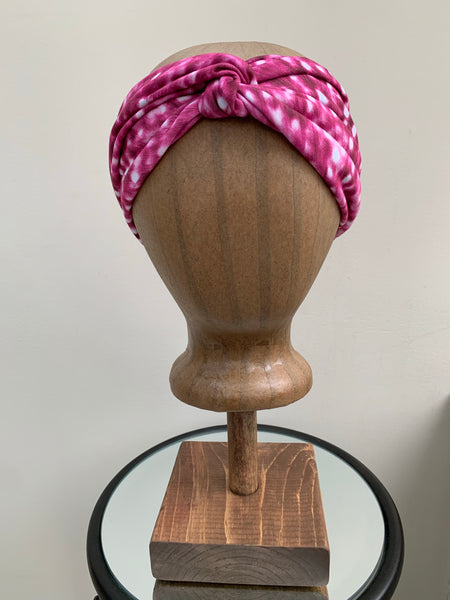 Turban Twist Pink Cheetah