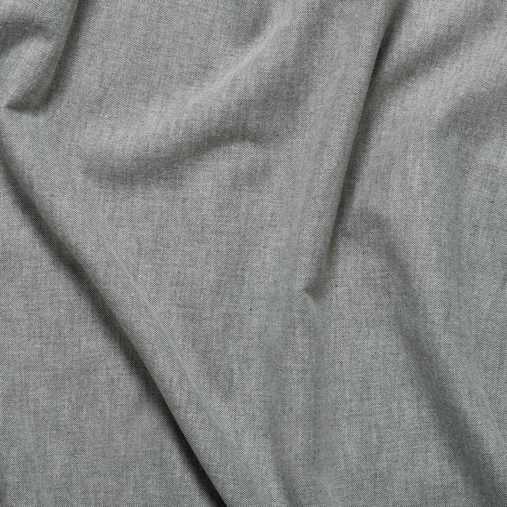 detail image of grey cashmere sheets