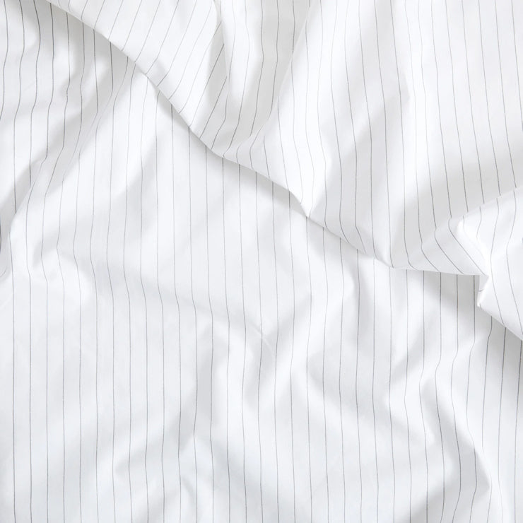detail image of classic striped sheets