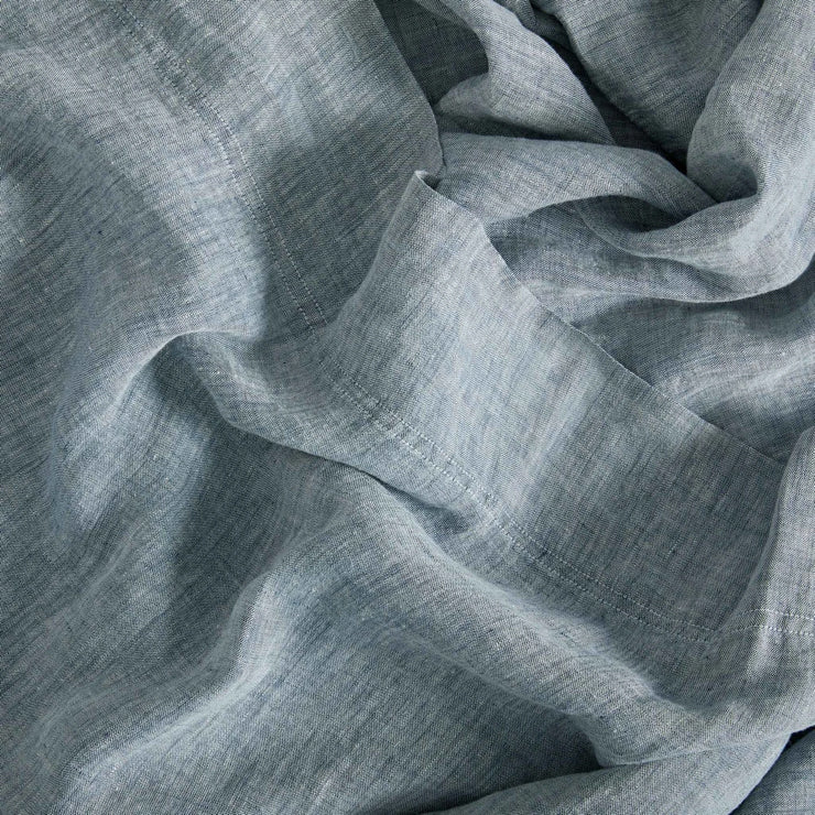 detail image of linen sheets