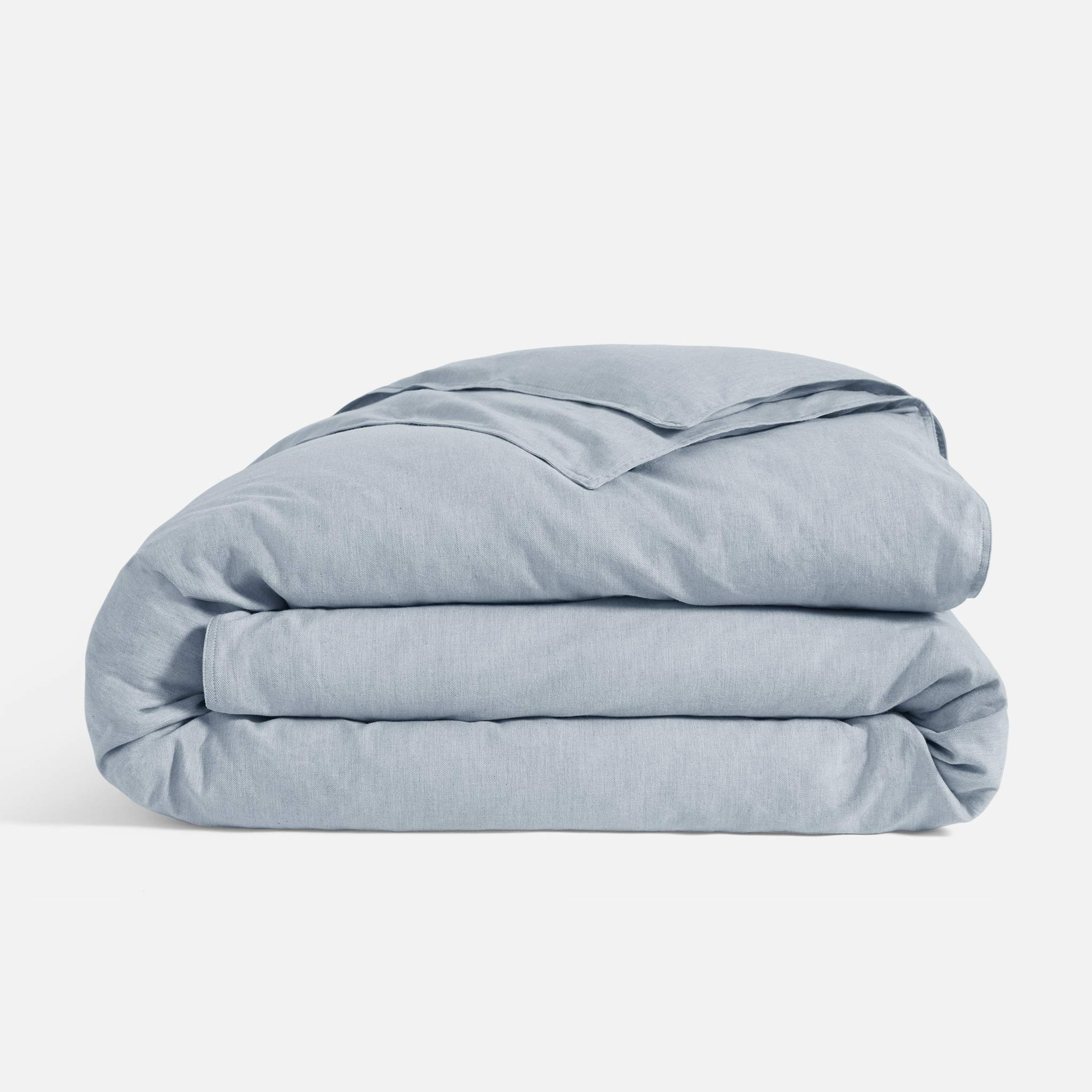 Duvet Cover in Frosted Blue
