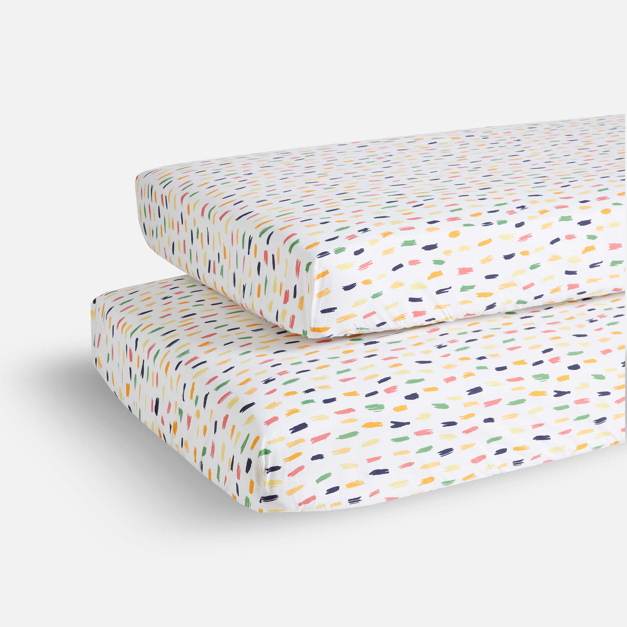 Crib Sheet Set in Multi
