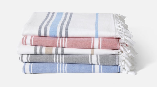 Stack of two Hammam Towels