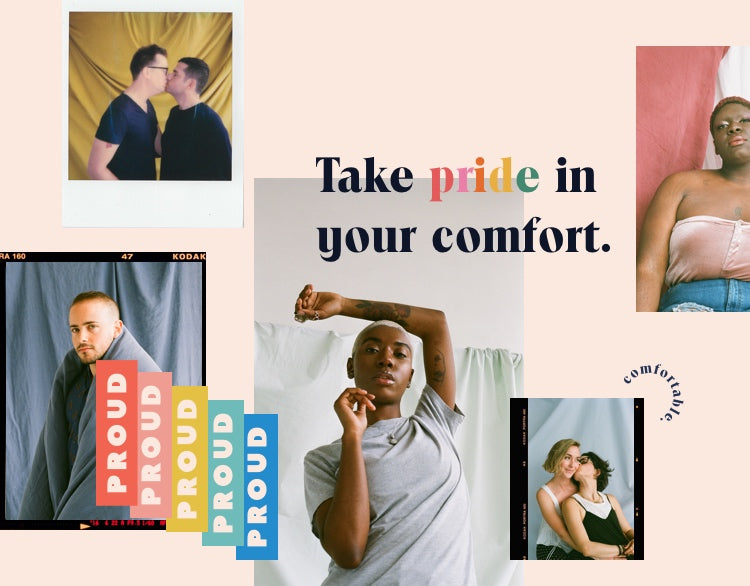 Collage of LGBTQI photos