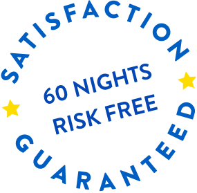 Satisfaction Guarenteed, 60 Nights Risk Free