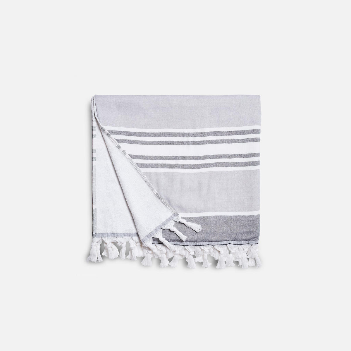 Hammam Beach Blanket and Towel Bundle / Driftwood