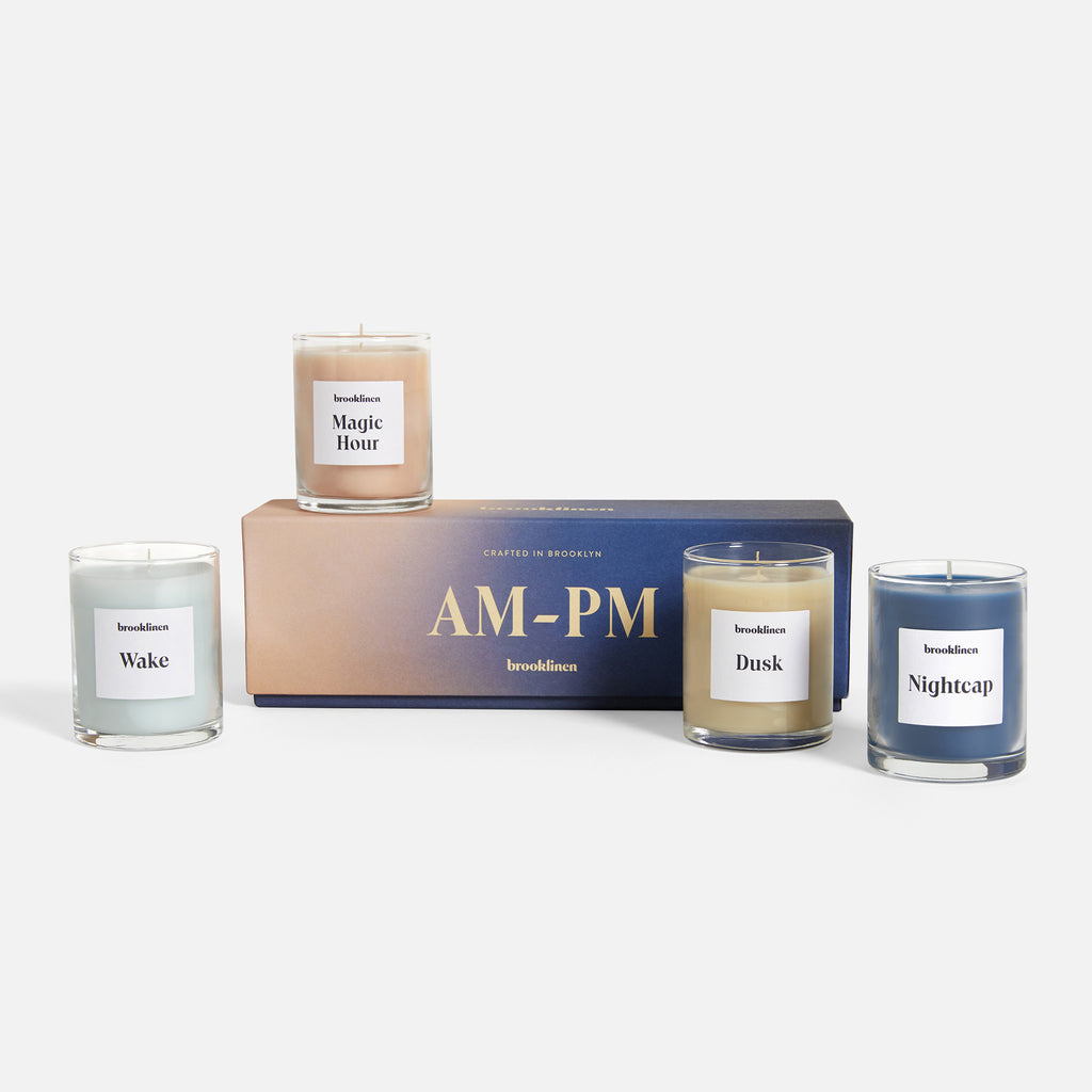 Scented Candle - AM to PM Set