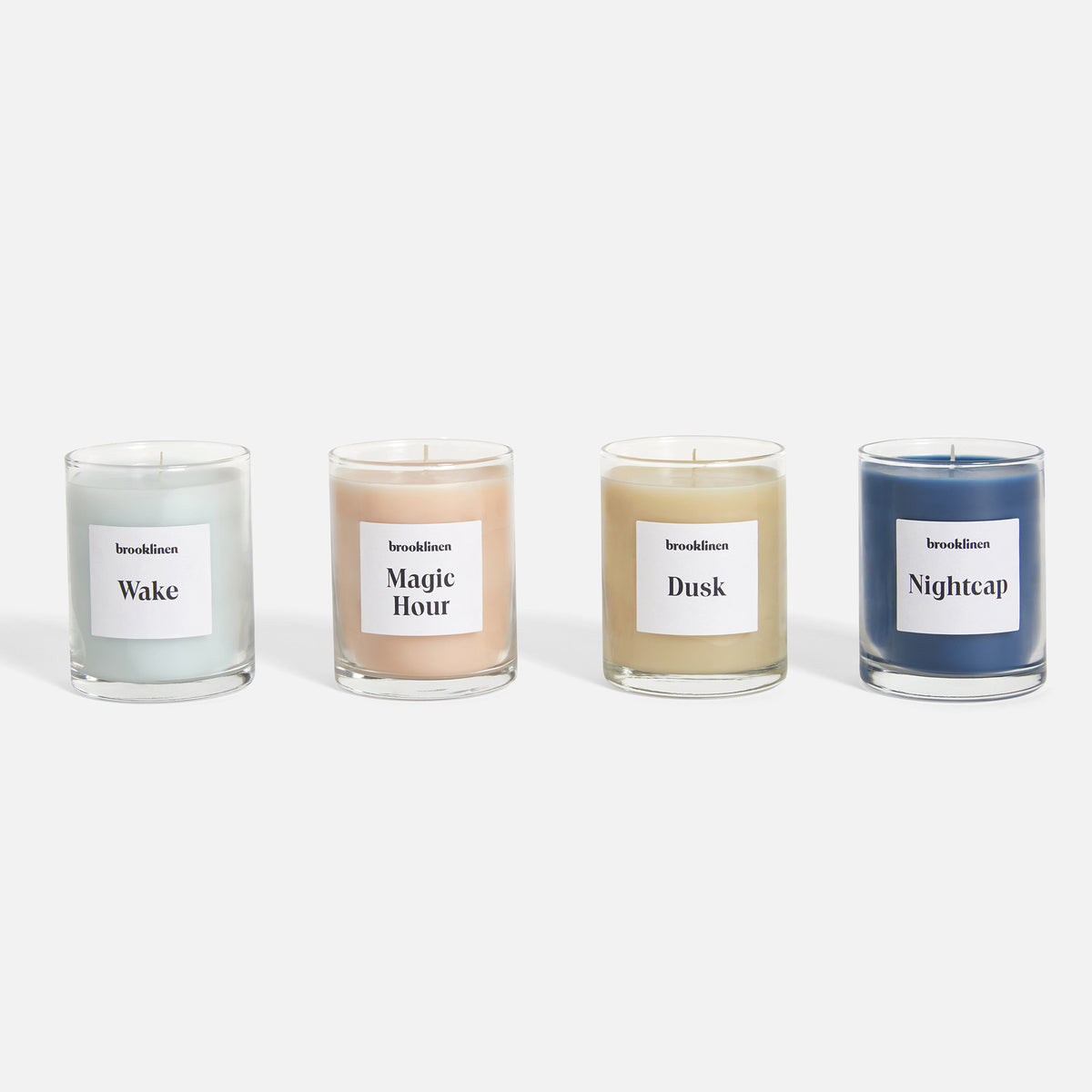 brooklinen candles, mini candles, apartment decor, affordable apartment decor, nyc apartment