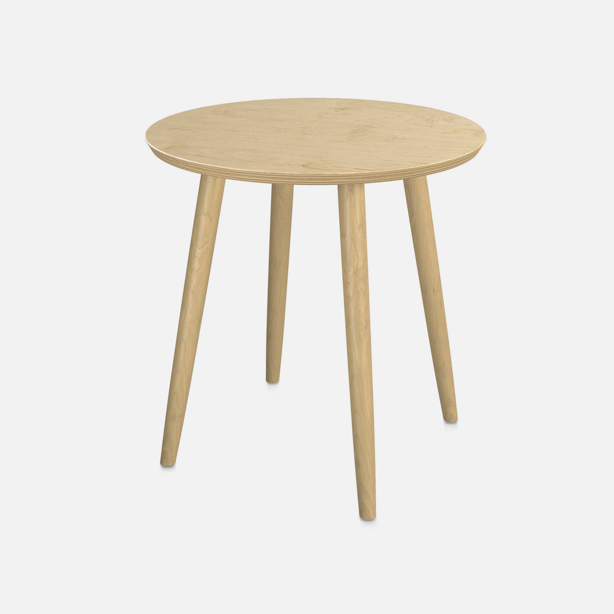 Elle Side Table / Latte Wood