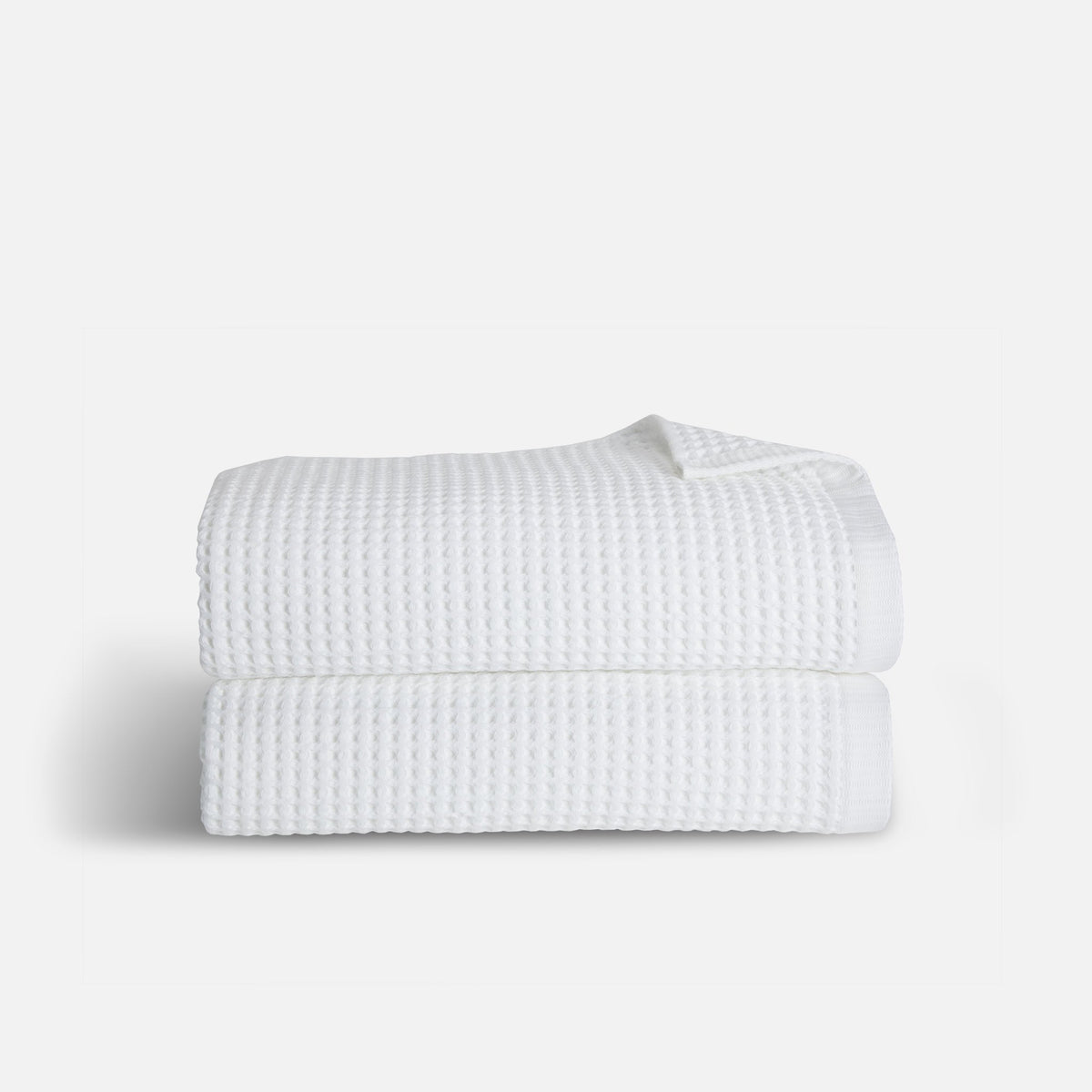 Waffle Towel Move-In Bundle / White