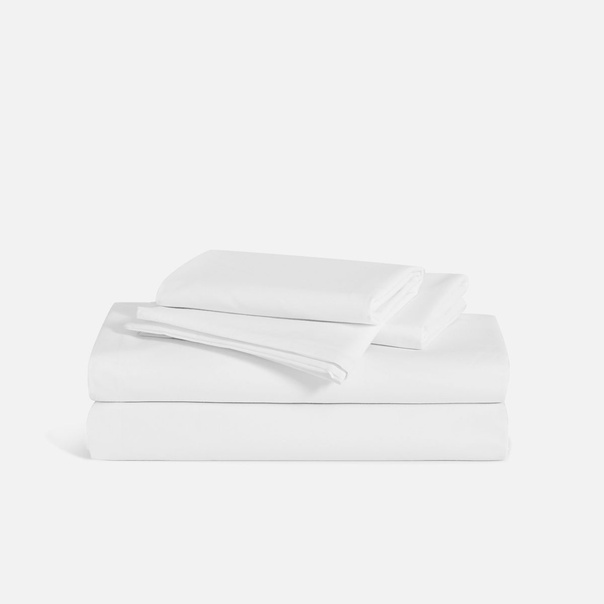 Classic Split King Sheet Set / Solid White