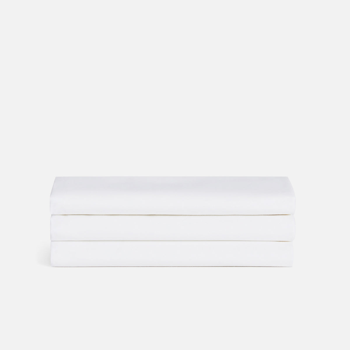 Luxe Flat Sheet / Solid White