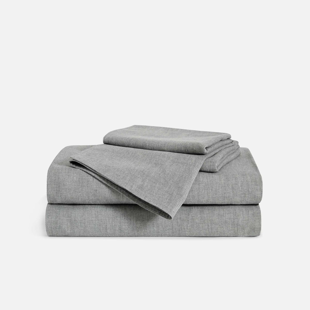 Heathered Cashmere Hardcore Sheet Bundle / Charcoal