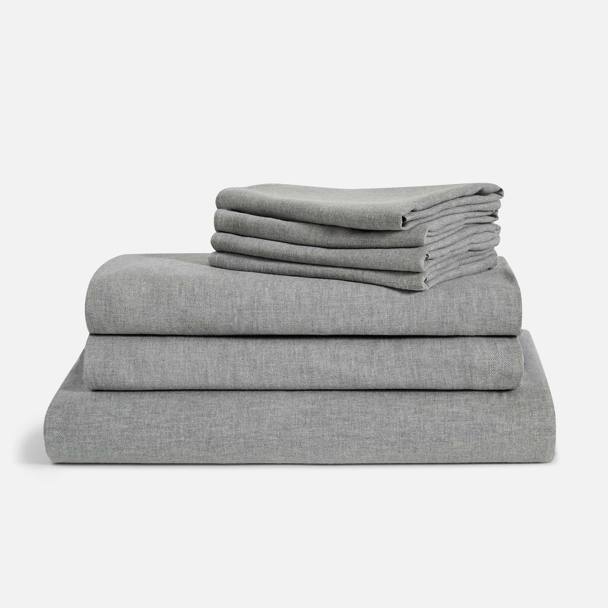 Heathered Cashmere Move-In Bundle / Charcoal