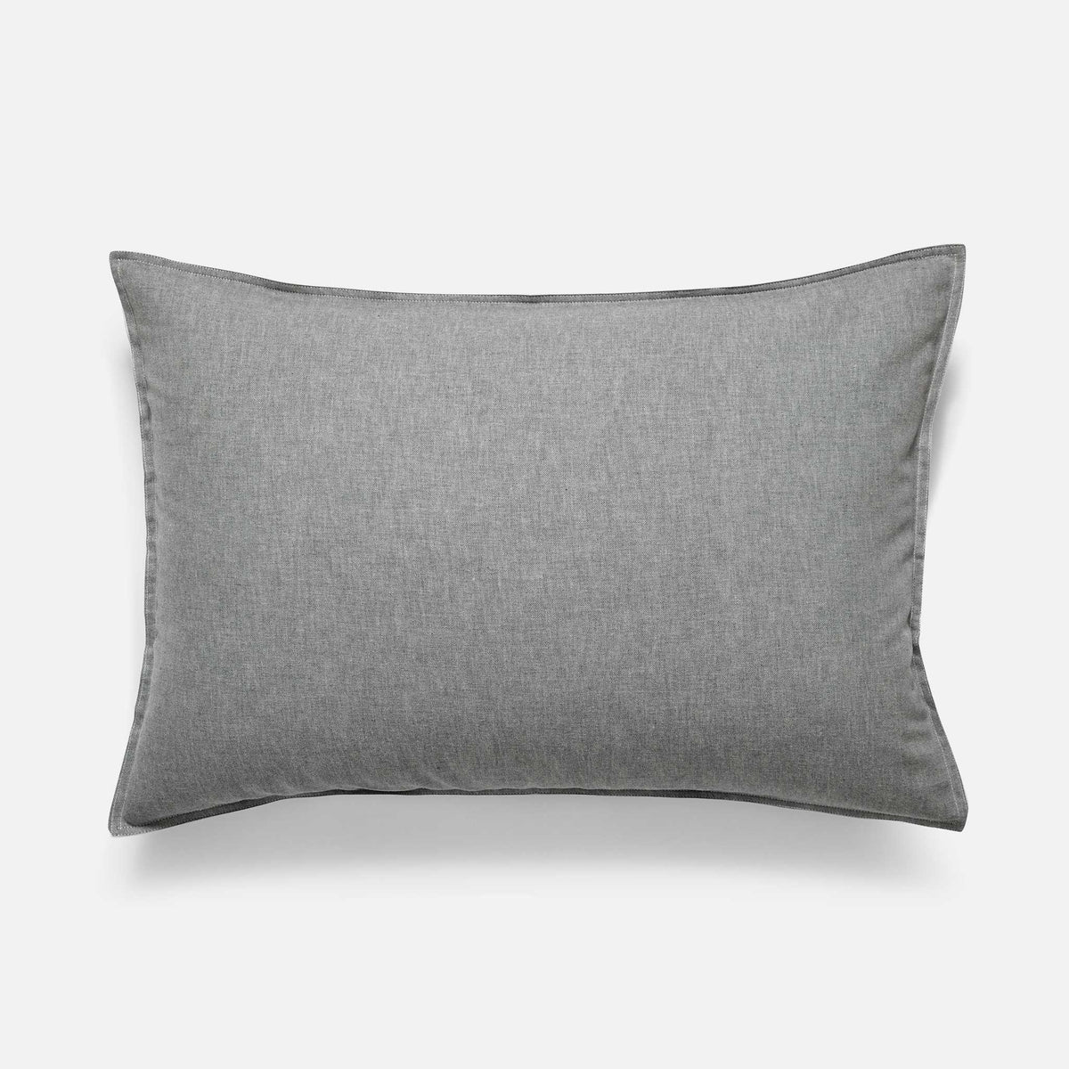 Heathered Cashmere Pillowcases / Charcoal