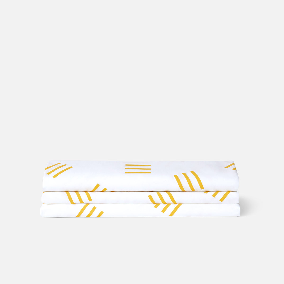 Classic Fitted Sheet - Last Call / Mustard Matchstick