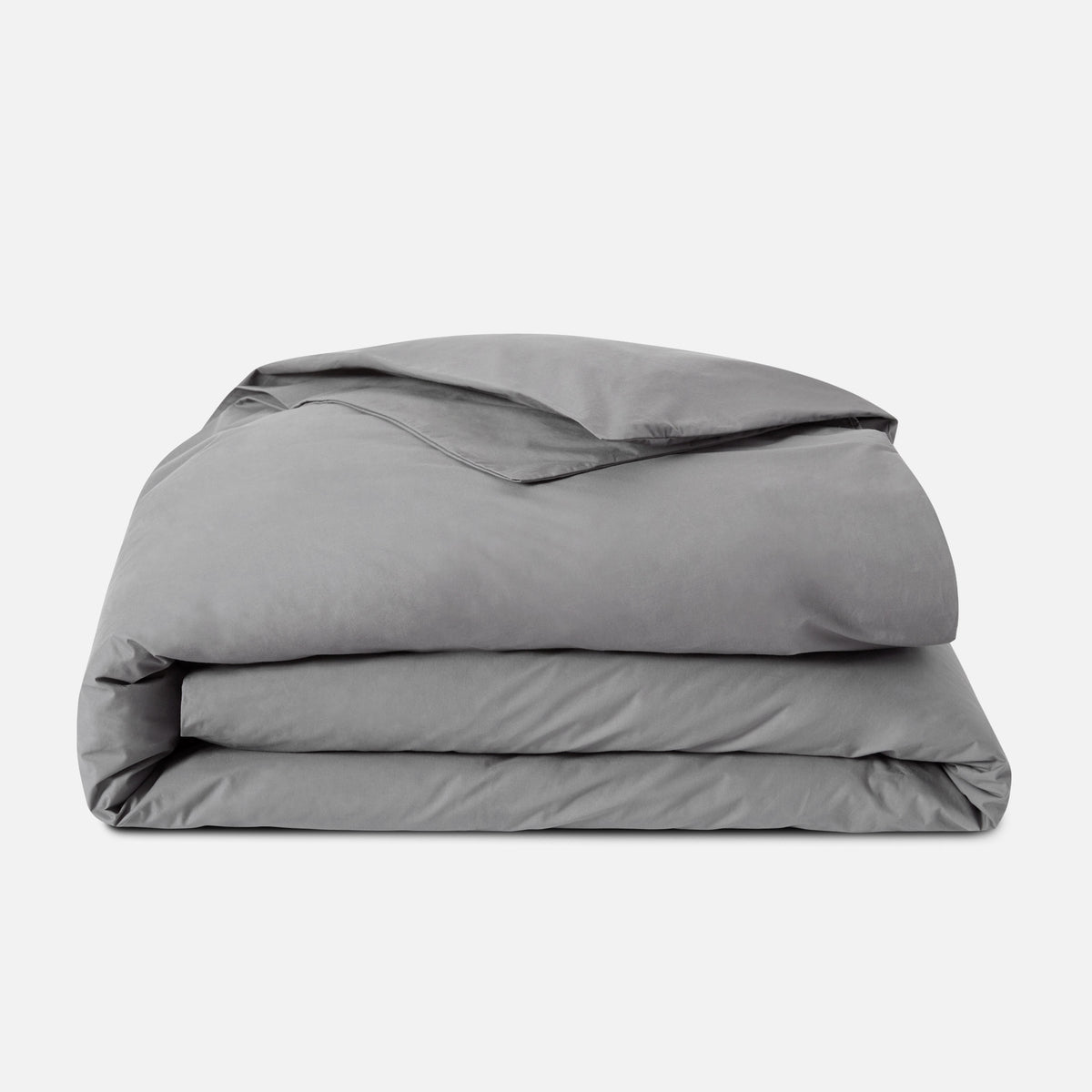 Luxe Duvet Cover - Last Call / Solid Smoke