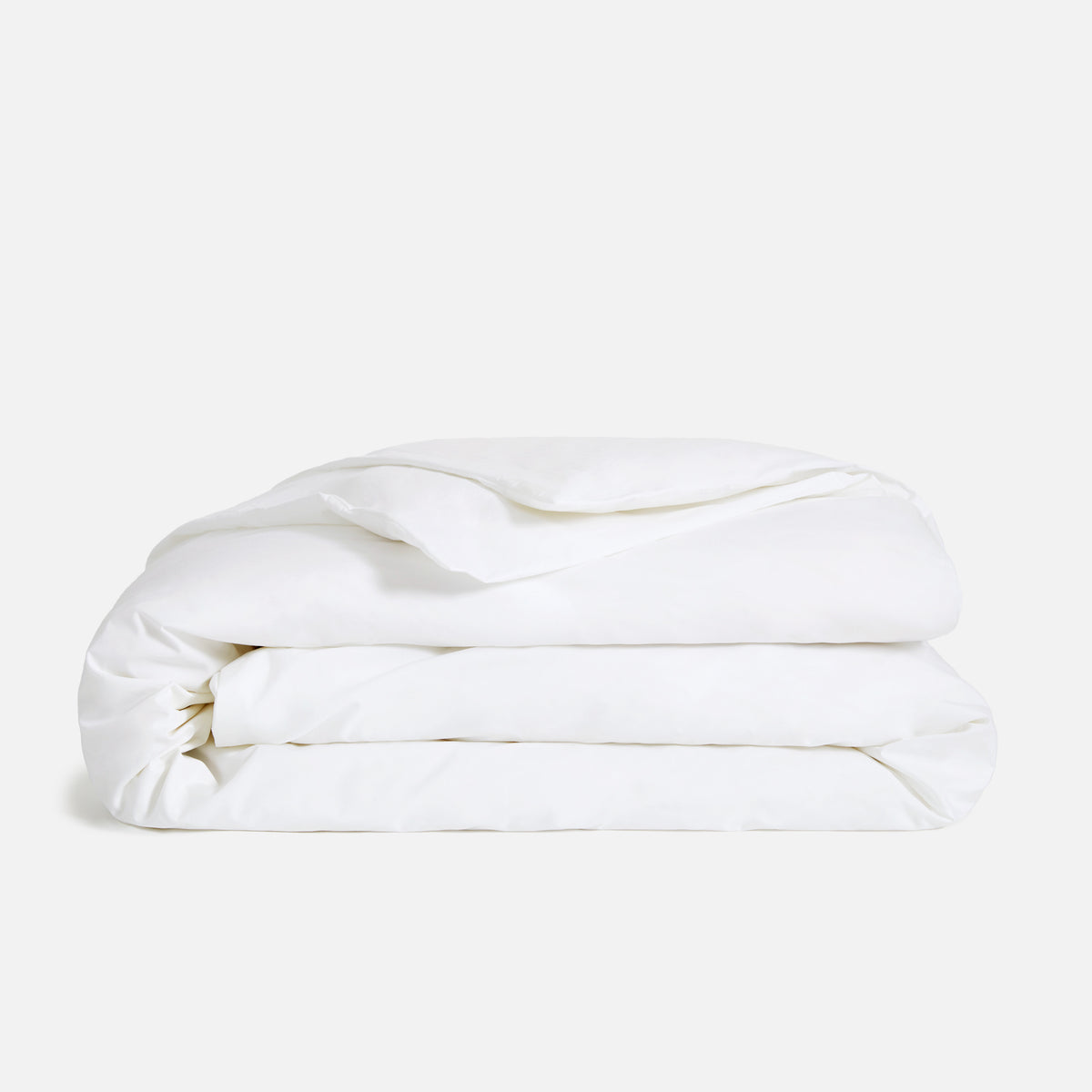 Luxe Duvet Cover / Solid White